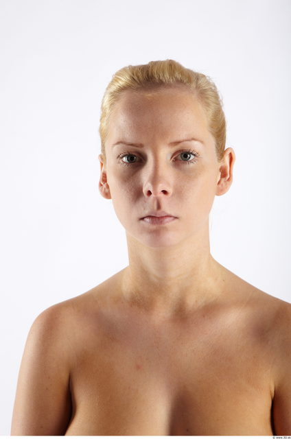 Head Woman Slim Studio photo references