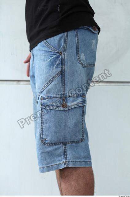 Thigh Man White Casual Jeans Slim