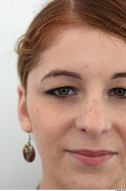 Face Woman White Slim