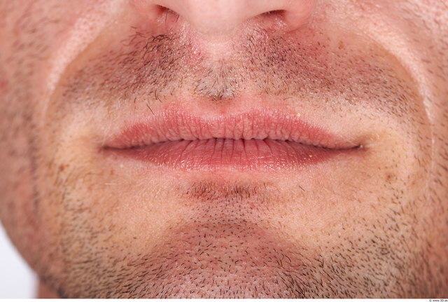 Mouth Man Muscular Studio photo references