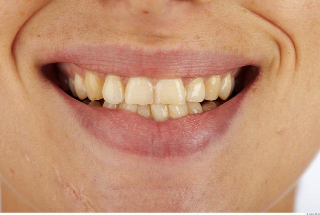 Teeth Woman Average Studio photo references