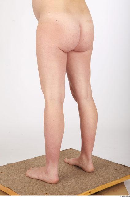 Woman White Nude Pregnant Studio photo references