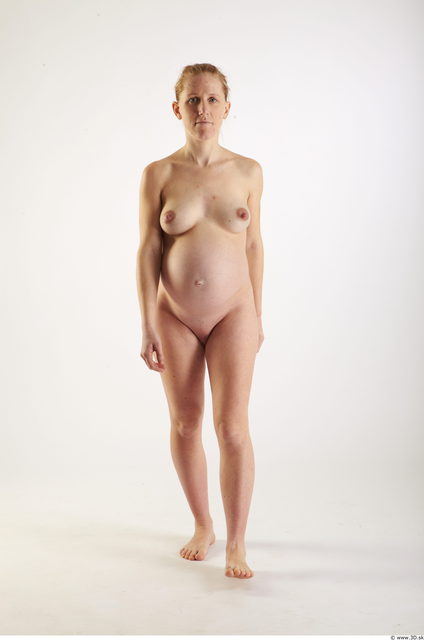 Woman White Pregnant Studio photo references