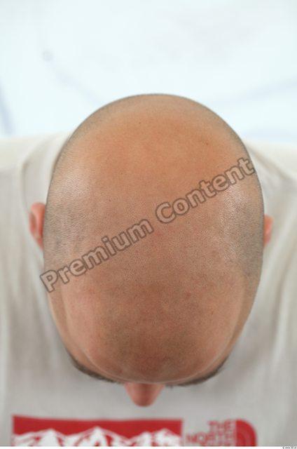 Hair Man White Overweight