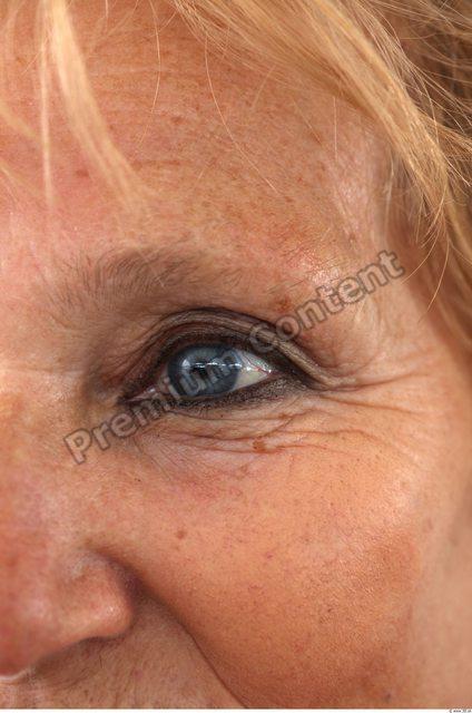 Eye Woman White Average Wrinkles
