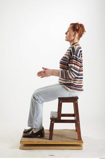 Whole Body Woman Artistic poses White Historical Average