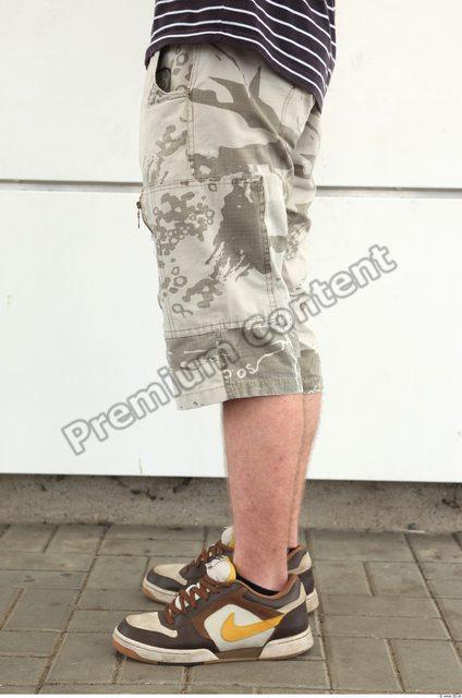 Leg Man Casual Shorts Athletic Street photo references