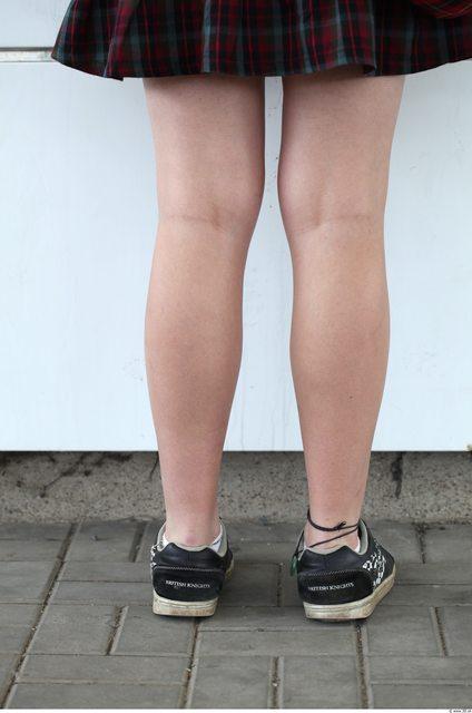 Calf Woman White Nude Slim