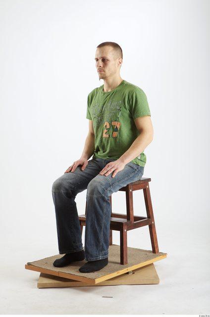 Whole Body Man Artistic poses White Historical Average