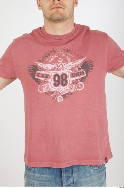 Upper Body Man Tattoo Casual Shirt T shirt Athletic Studio photo references