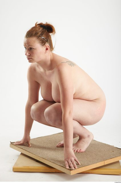 Woman Other White Nude Overweight Studio photo references