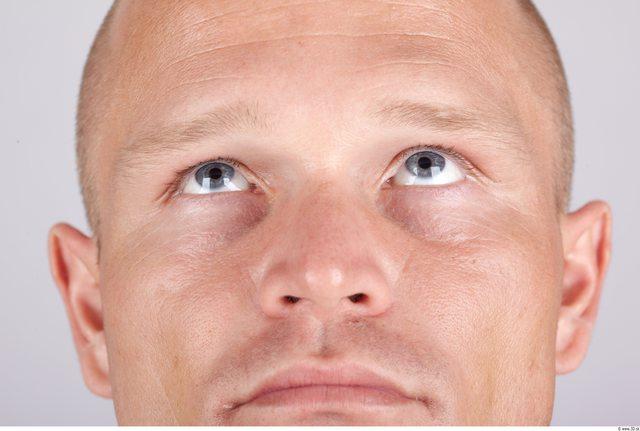 Eye Whole Body Man Sports Muscular Studio photo references