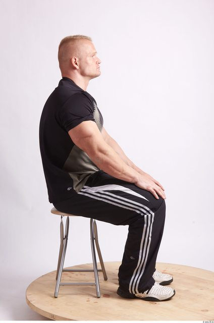 Whole Body Man Artistic poses White Sports Muscular