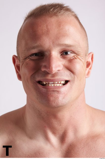 Face Phonemes Man White Muscular