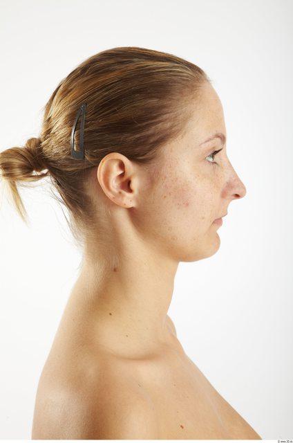 Head Woman Animation references White Average