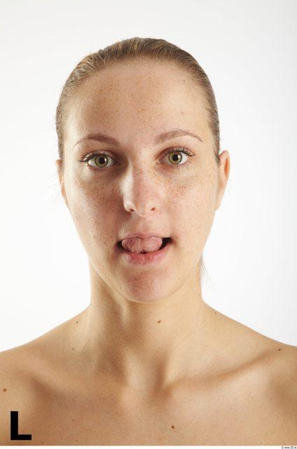 Head Phonemes Woman White Average