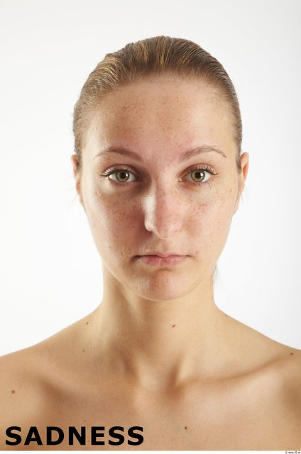 Head Emotions Woman White Average