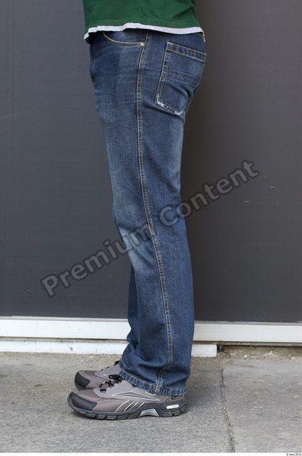 Leg Man White Casual Pants Chubby