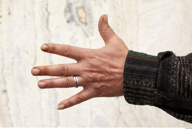 Hand Man White Chubby