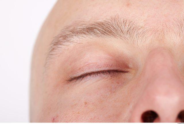 Eye Whole Body Man Muscular Studio photo references