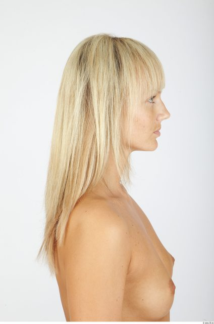 Hair Woman Animation references Slim Studio photo references