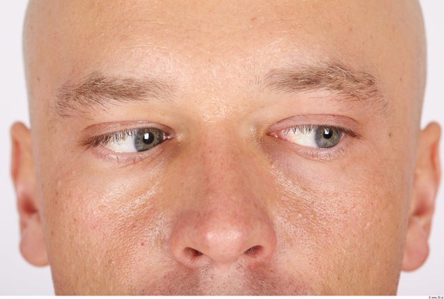 Eye Whole Body Man Casual Muscular Studio photo references