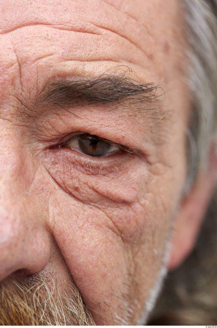 Eye Man White Slim Wrinkles