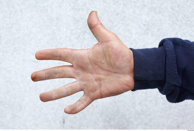 Hand Man White Slim