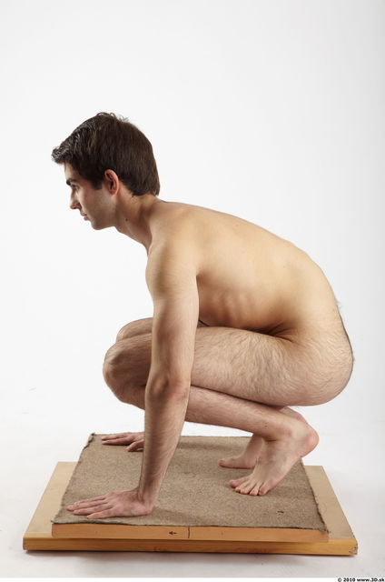 Whole Body Man Other White Hairy Nude Athletic
