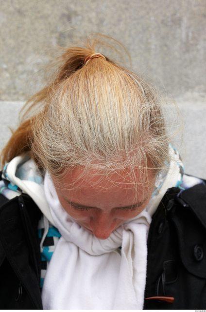 Hair Woman White Slim