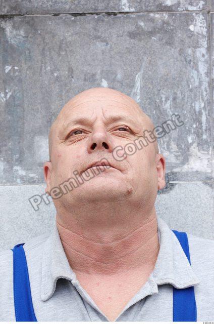 Neck Man White Overweight