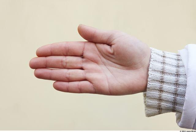 Hand Woman White Slim