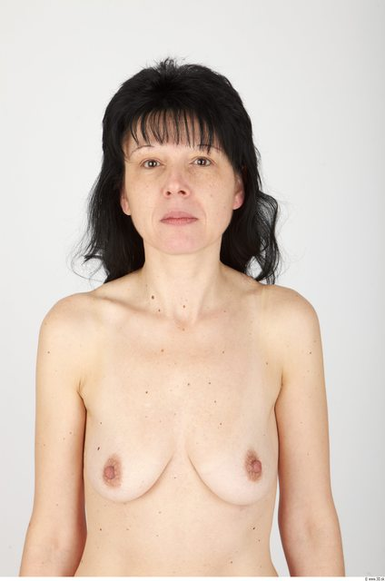 Whole Body Hair Woman Animation references Nude Slim Studio photo references