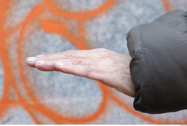 Hand Man White Chubby Wrinkles