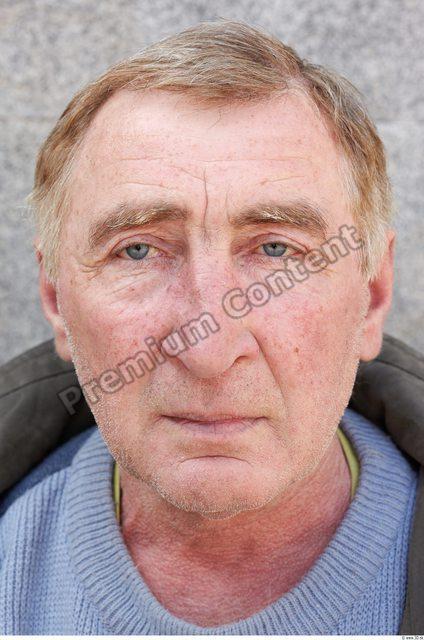 Head Man White Chubby Wrinkles