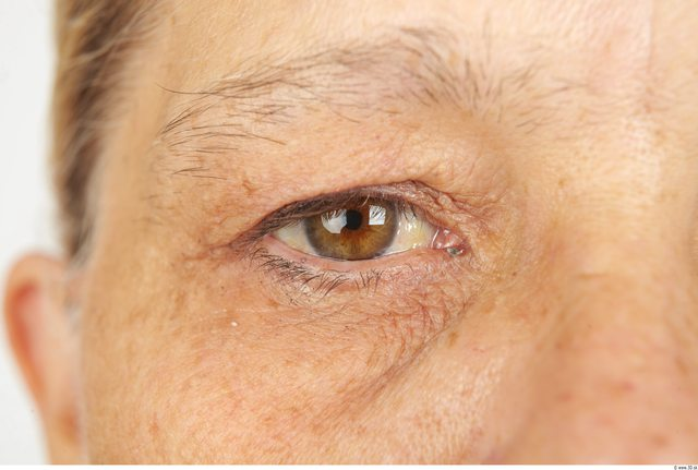 Eye Whole Body Woman Casual Overweight Wrinkles Studio photo references
