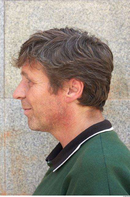 Head Man White Average