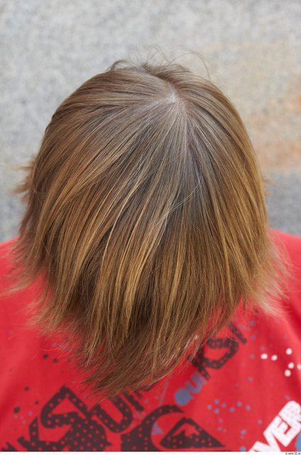 Head Hair Man Athletic Average Street photo references
