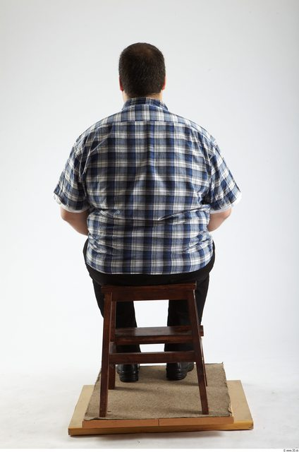 Whole Body Man Artistic poses White Casual Overweight