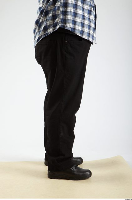 Leg Man Animation references White Casual Trousers Overweight