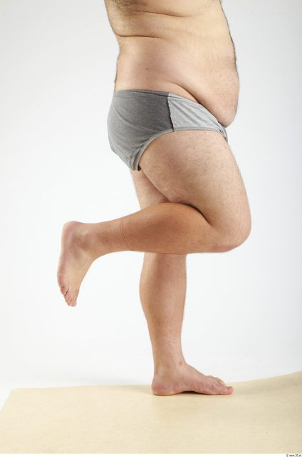Leg Man Animation references White Underwear Pants Overweight
