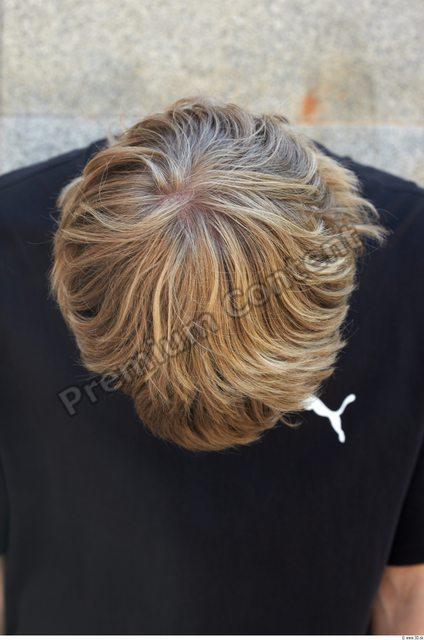 Hair Man White Slim