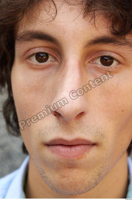 Face Man White Slim