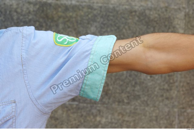 Arm Man White Casual Shirt Slim
