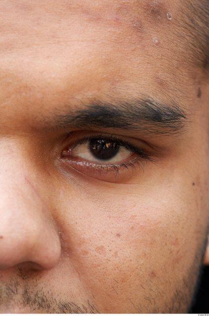 Eye Head Man Athletic Chubby Street photo references