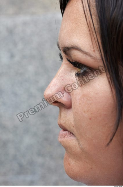 Face Head Man Woman Casual Slim Overweight Street photo references
