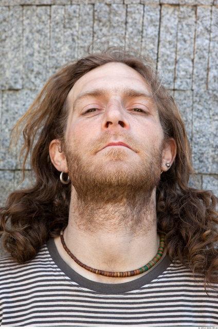 Head Man White Jewel Slim Bearded