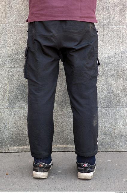 Leg Head Man Casual Sports Trousers Slim Street photo references