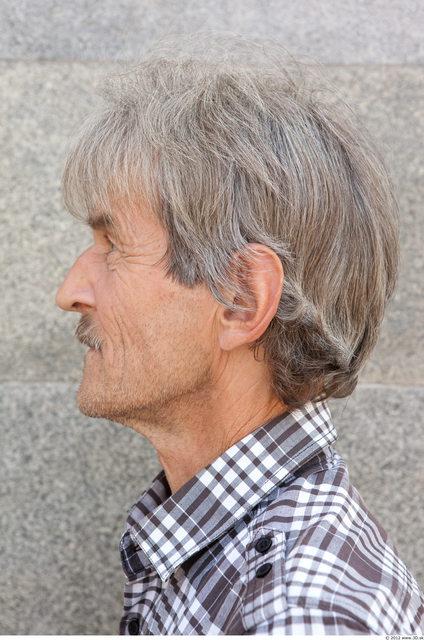 Head Man White Slim Bearded