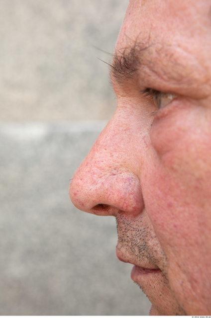 Nose Man White Chubby